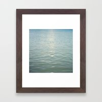 Aqua Seas Framed Art Print