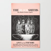 The Blacksmiths ANALOG zine Canvas Print