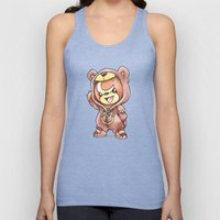 Bear-ly Noticeable Unisex Tank Top