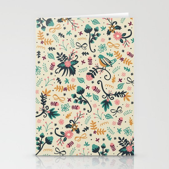Deck the Halls Stationery Card