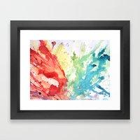 Fluid #1 Framed Art Print