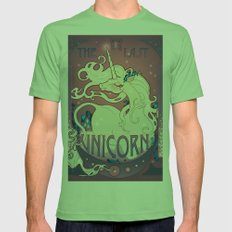 The Last Unicorn Mens Fitted Tee Grass SMALL