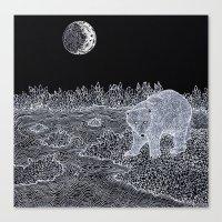 The Polar Bear Canvas Print