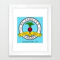 Schrute Farms | The Offi… Framed Art Print