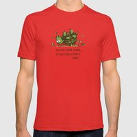 Perseverance Mens Fitted Tee Red SMALL