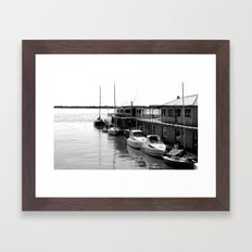 Corrientes Harbour Framed Art Print