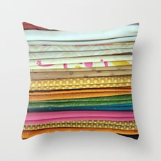 indian sarees Throw Pillow