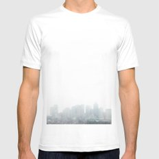Boston Mens Fitted Tee White SMALL