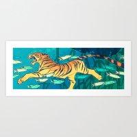 Samudraban Art Print