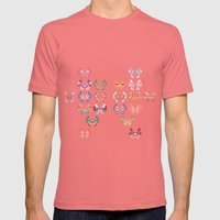 Vivillon Mens Fitted Tee Pomegranate SMALL