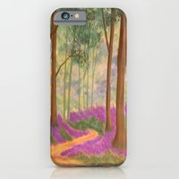 Bluebell Pathway iPhone 6 Slim Case