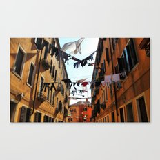This mess we are in Canvas Print
