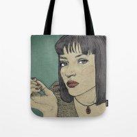 Mia (Mia Wallace Pulp Fi… Tote Bag