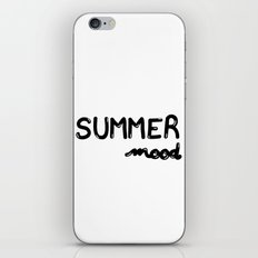 Summer Mood ! iPhone & iPod Skin