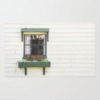 The Green Window Rug