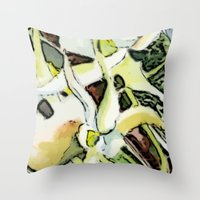 Darwins Orchid Throw Pillow
