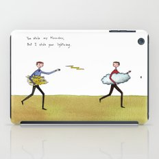 you stole my thunder iPad Case