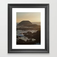 As The Sea Comes In... Framed Art Print