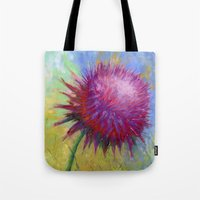 Thistle I Tote Bag