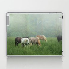 Out in the rain Laptop & iPad Skin