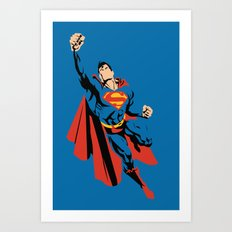 DC - Superman Art Print