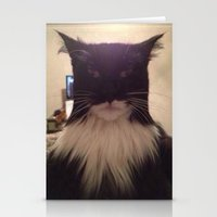 cat lol Stationery Cards