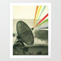 Earth Calling Art Print