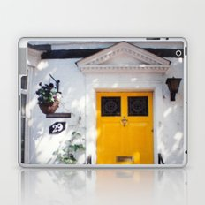The Perfect Yellow Door Laptop & iPad Skin
