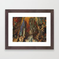 Chicago Woodie Woo by Sherri Of Palm Springs-abstract Framed Art Print