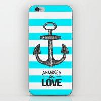 Anchored // Love iPhone & iPod Skin