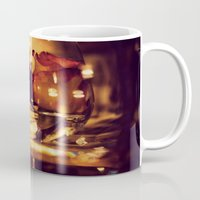 GLASS ROSE Mug