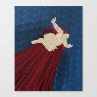 When Hondas Fly (Homage … Canvas Print