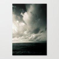 Summer Ver.greenblack Canvas Print