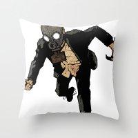 Always Tired/Never Tiring Throw Pillow