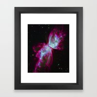 Space Winds Framed Art Print
