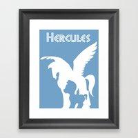 Hercules Framed Art Print