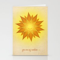 You Are My Sunshine... Stationery Cards