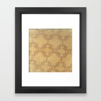 French Curve Study 1 Framed Art Print