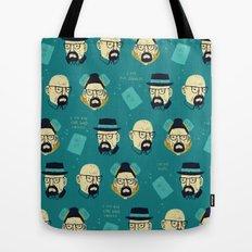 heisenberg pattern Tote Bag