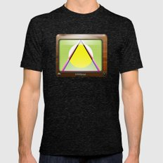 Kaleidoscope TV version A  Mens Fitted Tee Tri-Black SMALL