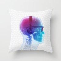 Electronic Music Fan Throw Pillow