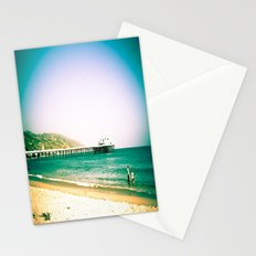 Hangin' Out In Malibu Stationery Cards