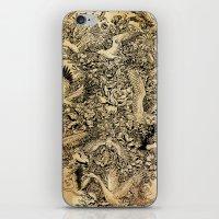 Blooming Flight iPhone & iPod Skin