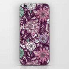 Floral Pattern #48 iPhone & iPod Skin