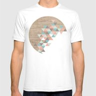 Archiwoo Mens Fitted Tee White SMALL