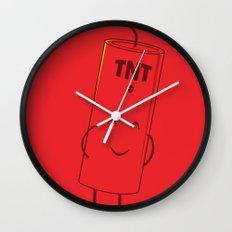 Take Cover Wall Clock