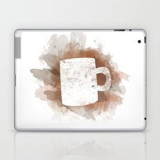 Coffee Stain Laptop & iPad Skin