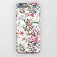 iPhone Cases featuring Bird of Paradise by Gemma Hodgson Design