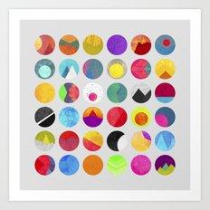 Dots - I Art Print