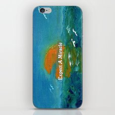 Expect A Miracle iPhone & iPod Skin